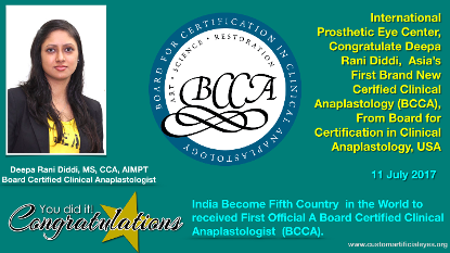 Board Certified Clinical Anaplastologist
